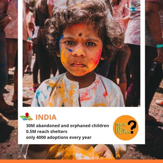 Poster 4 - Holi Child